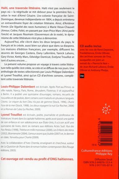 Haïti, une traversée littéraire