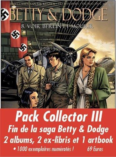 Betty & Dodge ; COFFRET VOL.3 ; T.7 ET T.8 ; avec hors série