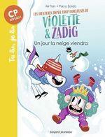 Vente Livre Numérique : Les aventures hyper trop fabuleuses de Violette et Zadig, Tome 04  - Mr Tan