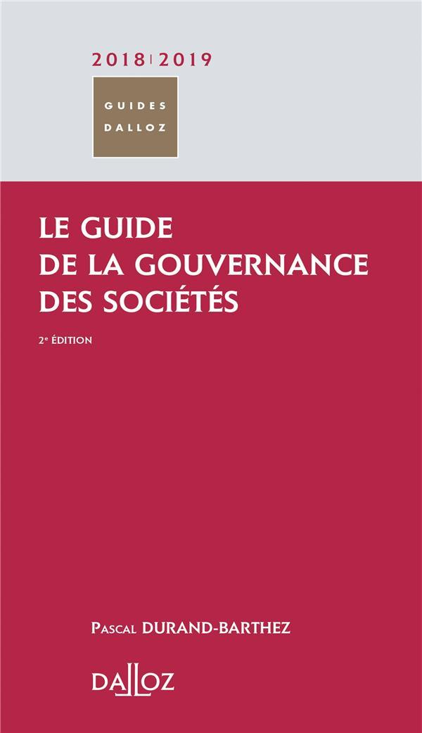 Le guide de la gouvernance des sociétés (édition 2018/2019)