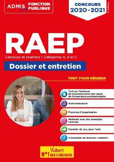 RAEP  -  CONCOURS ET EXAMENS  -  CATEGORIES A, B ET C  -  DOSSIER ET ENTRETIEN (EDITION 20202021)  DETOC, GUILLAUME