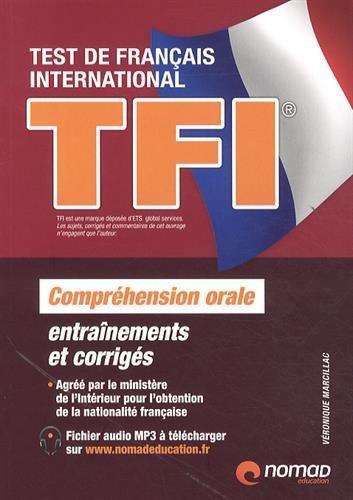 TFI (test de français international) ; compréhension orale