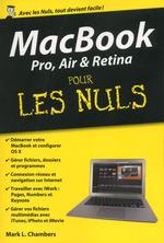 Vente Livre Numérique : MacBook Pro, Air et Retina Pour les Nuls, édition poche  - Mark L. CHAMBERS