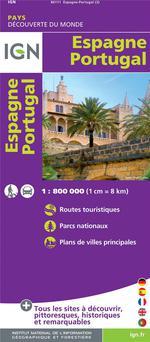 Couverture de Espagne ; portugal