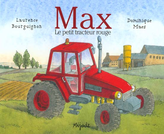 Max le petit tracteur rouge