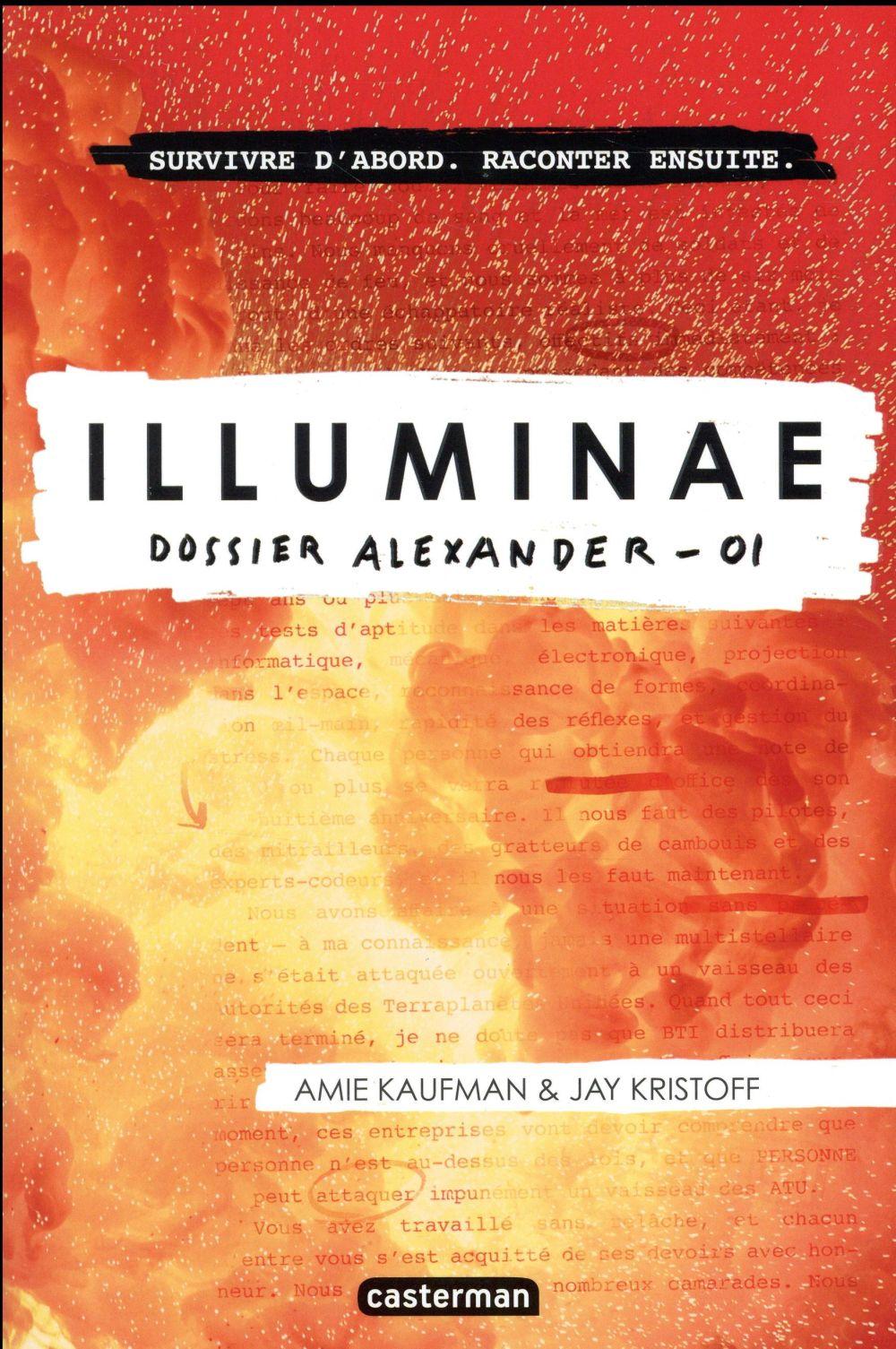 Illuminae t.1 ; dossier Alexander
