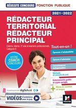 Vente Livre Numérique : Réussite Concours - Rédacteur territorial/Rédacteur principal - 2021-2022 - Préparation complète  - Brigitte Le Page - Bruno Rapatout