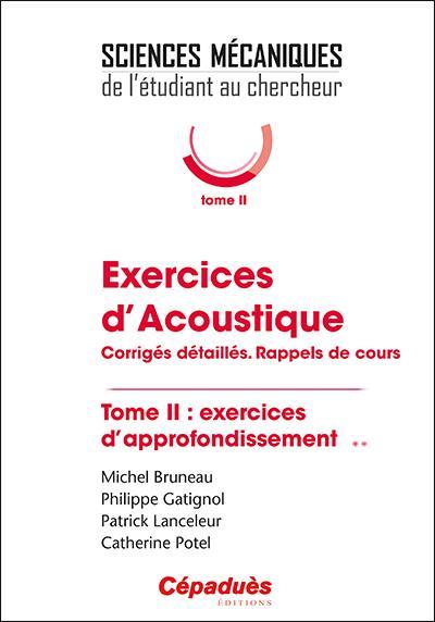 Exercices d'acoustique t.2