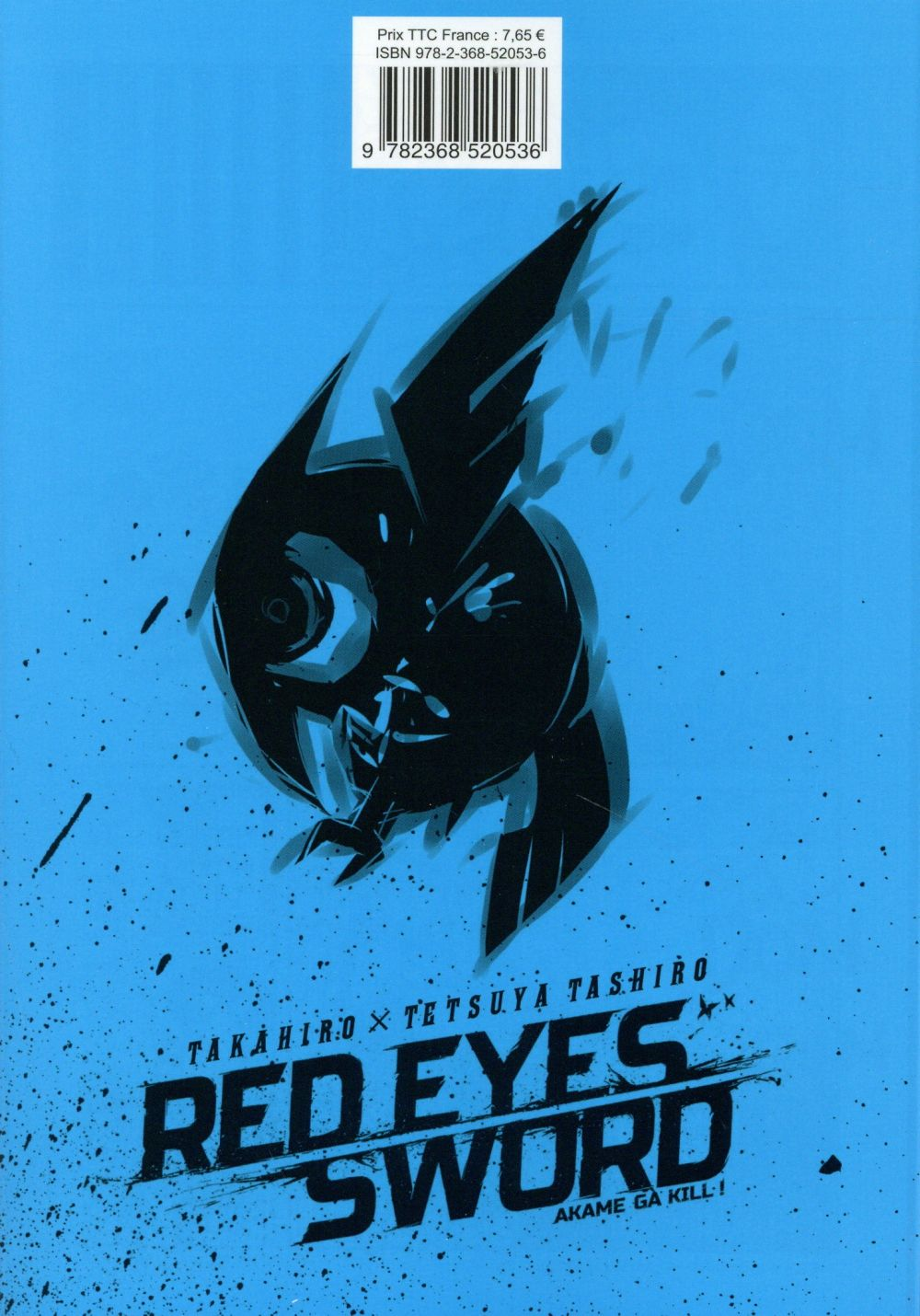 Red eyes sword - Akame ga Kill  T.4