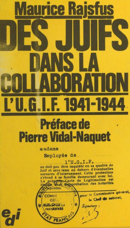 Juifs dans la collaboration
