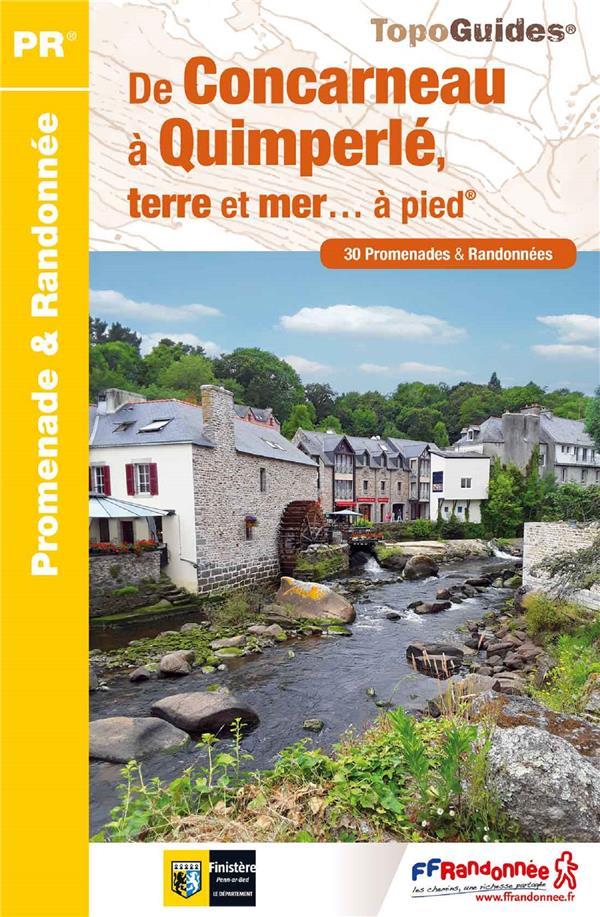De Concarneau à Quimperlé, terre et mer... à pied