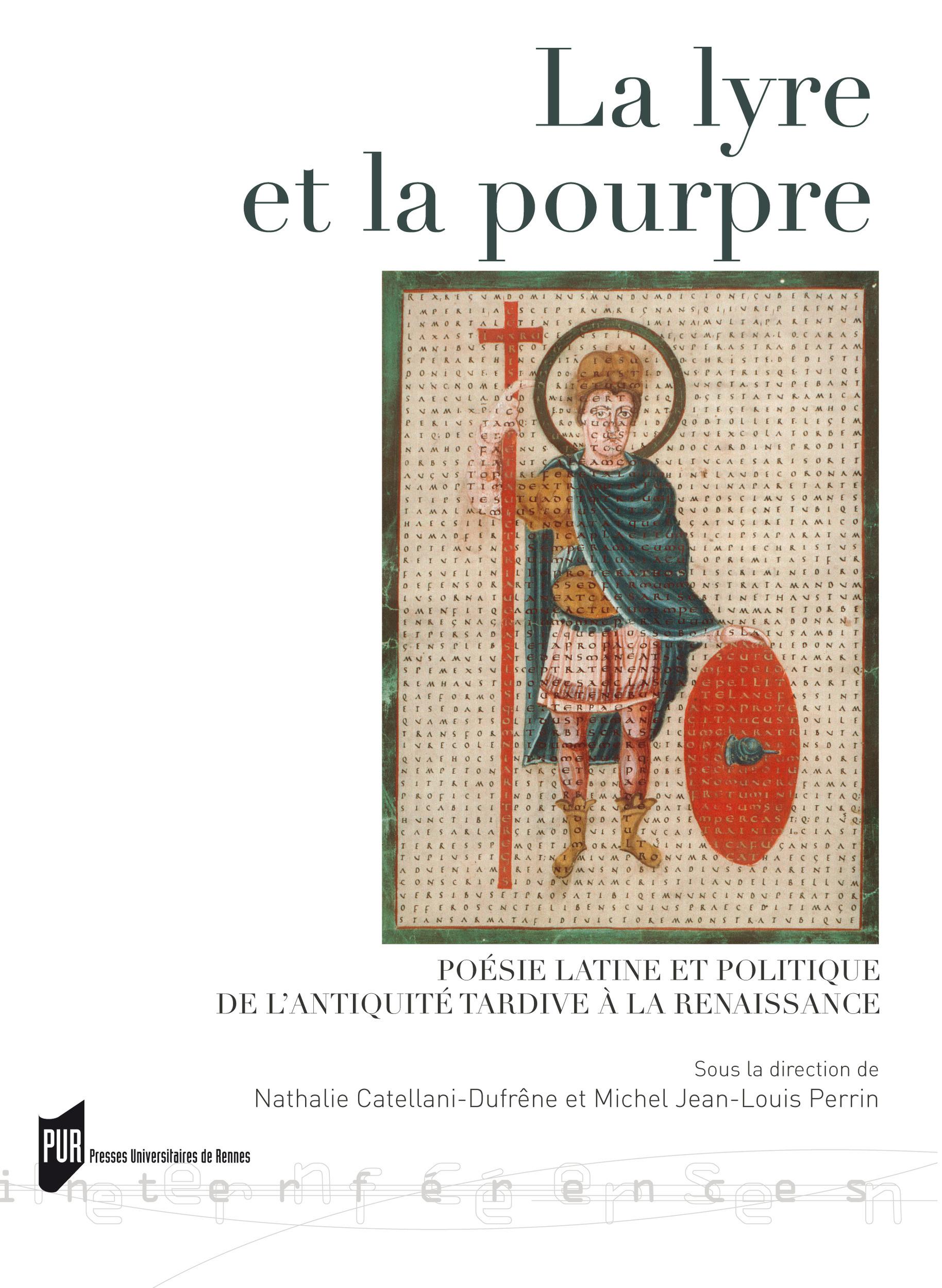 La lyre et la pourpre  - Perrin Michel  - Nathalie Catellani-Dufrêne