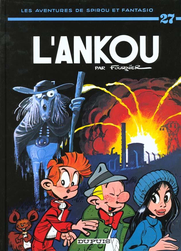 SPIROU ET FANTASIO - TOME 27 - L'ANKOU FOURNIER