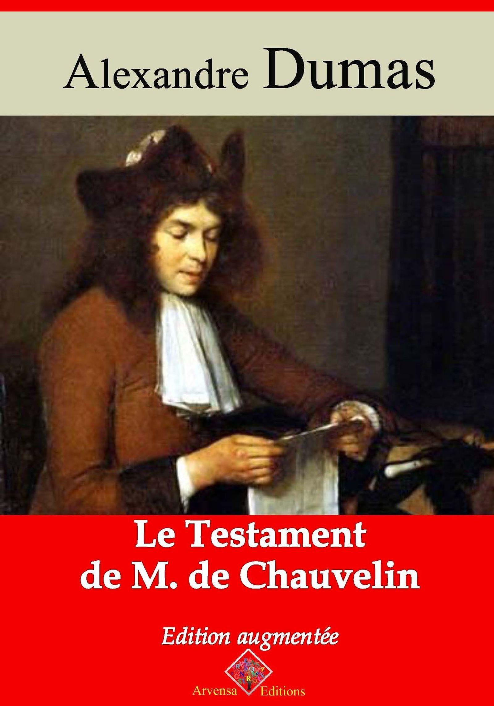 Vente EBooks : Le Testament de M. de Chauvelin - suivi d'annexes  - Alexandre Dumas 1802-1870