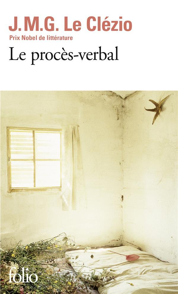 LE PROCES-VERBAL