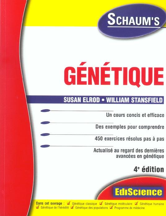 Genetique - Rappels De Cours Et 450 Exercices Corriges