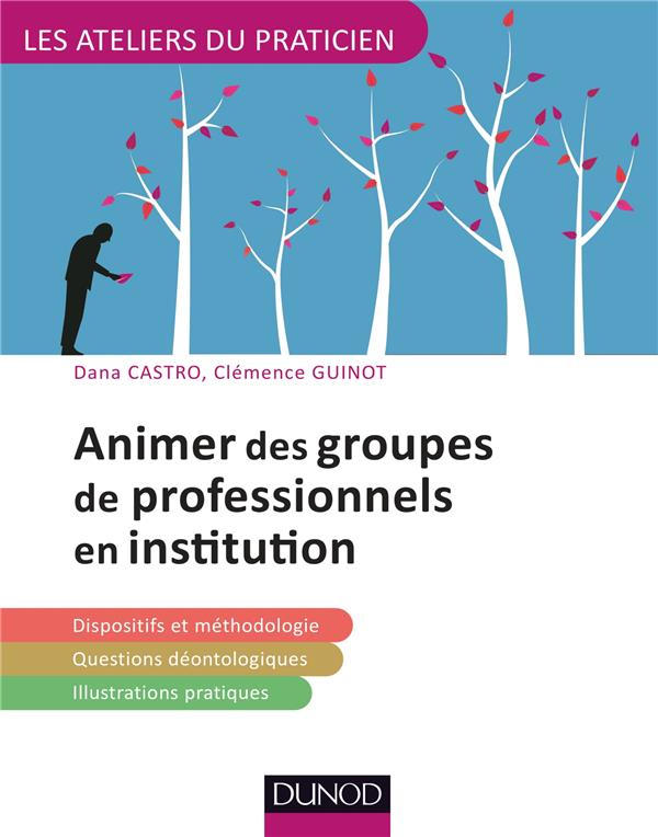 Animer des groupes de professionnels en institution