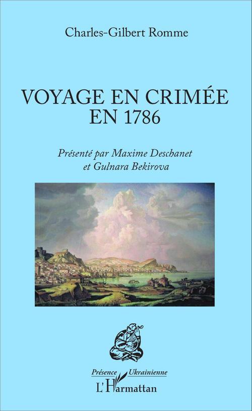 Voyage en Crimée en 1786