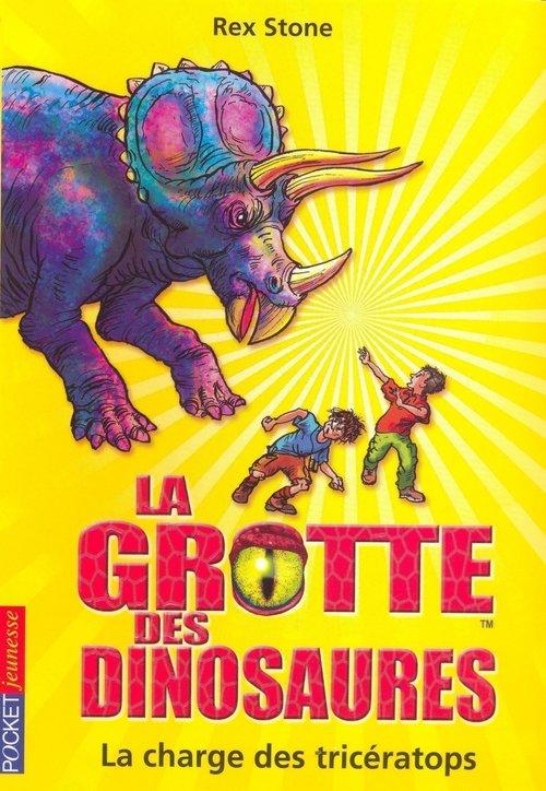 La grotte des dinosaures t.2 ; la charge des tricératops