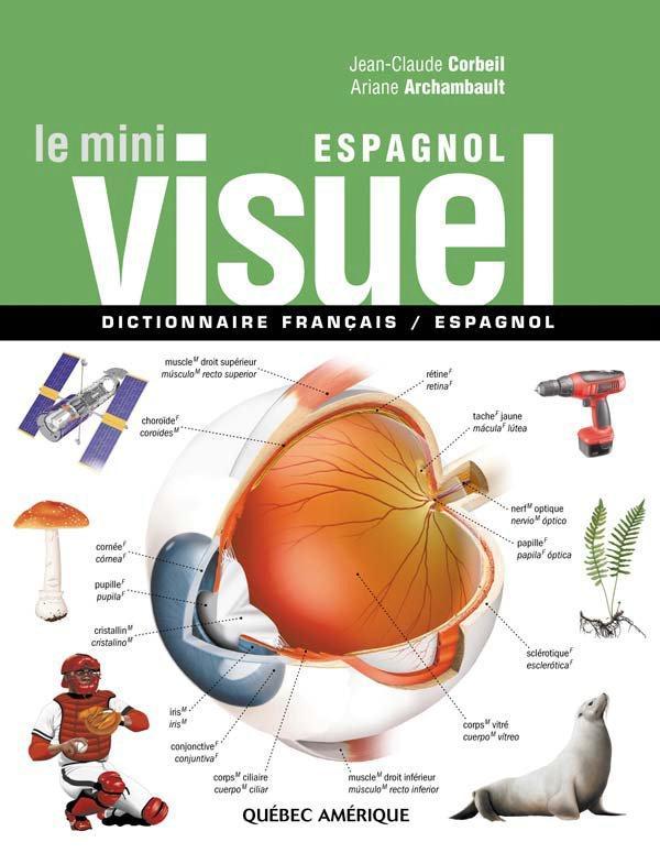 Le mini visuel ; dictionnaire français / espagnol