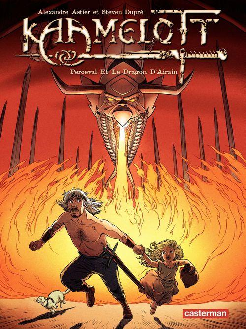 Kaamelott t.4 ; Perceval et le dragon d'airain