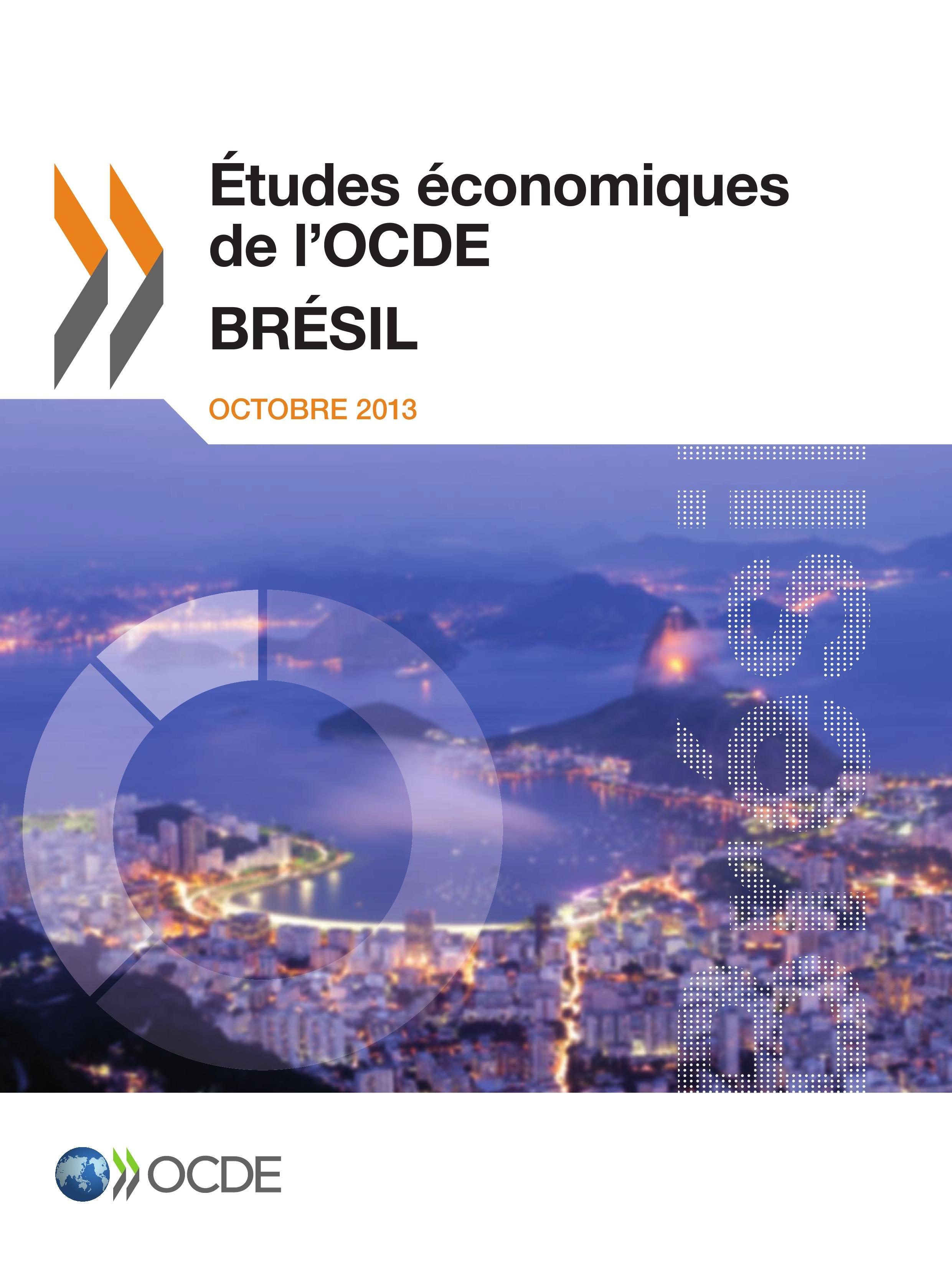 Brésil ; études économiques de l'OCDE (édition 2013)