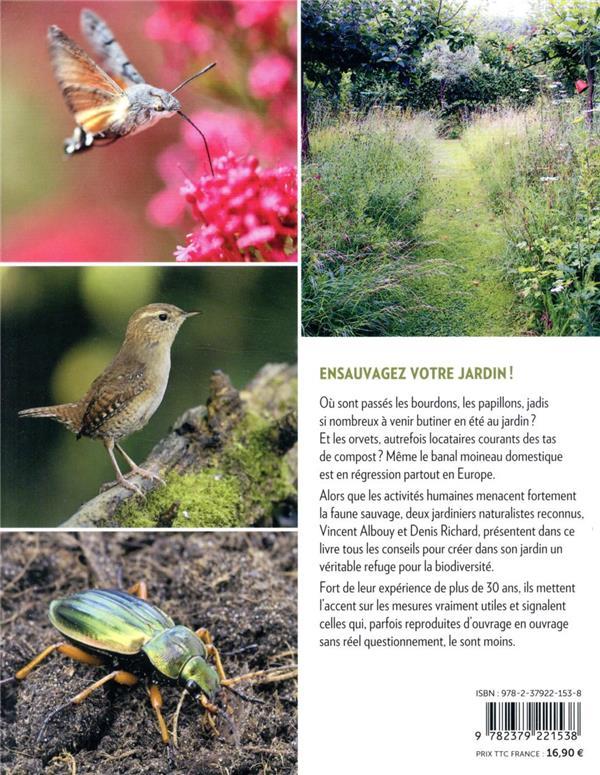 Accueillir la faune sauvage au jardin