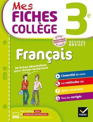 MES FICHES COLLEGE ; français ; 3ème