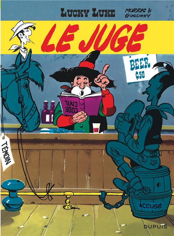 Lucky Luke T.13 ; Le Juge