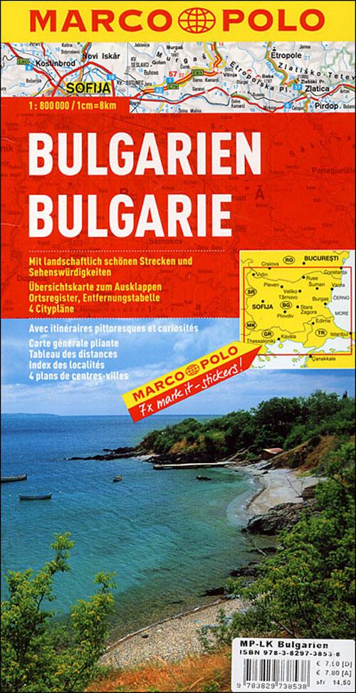 Bulgarie ; euro carte marco polo