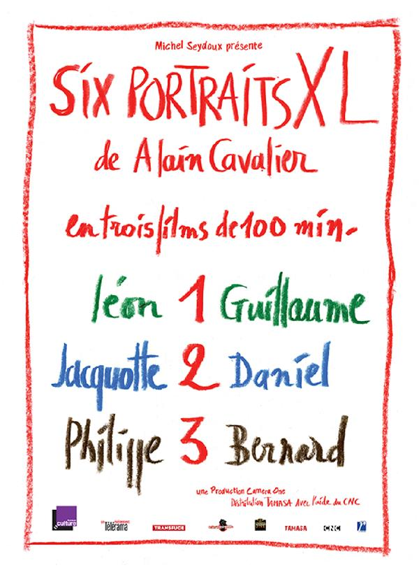 coffret six portraits XL