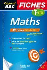 Vente Livre Numérique : Objectif Bac Fiches Maths Term St2S  - Alain Vidal - Gérard Guilhemat - Grégory Viateau
