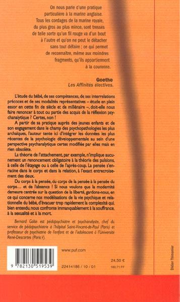 du corps à la pensée (2e édition)