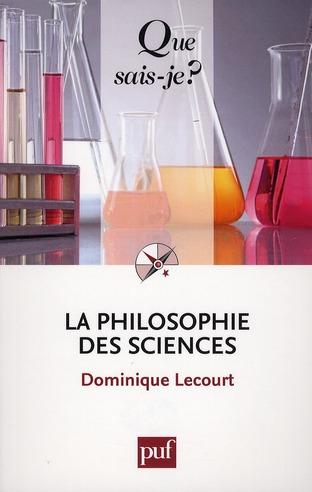 la philosophie des sciences (5e édition)