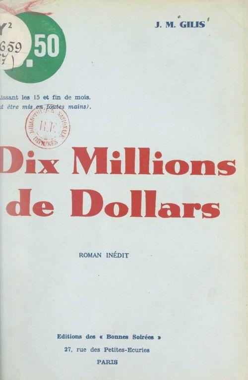 Dix millions de dollars