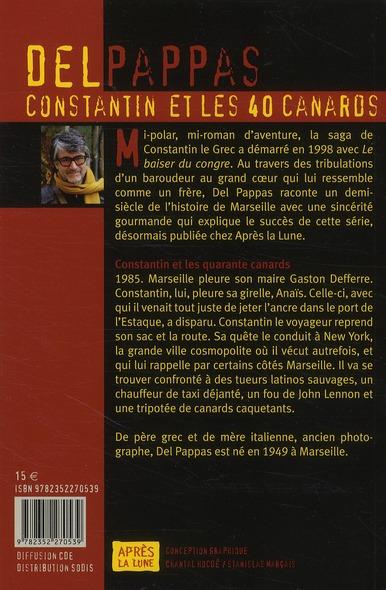 Les aventures de Constantin le Grec t.17 ; Constantin et les quarante canards