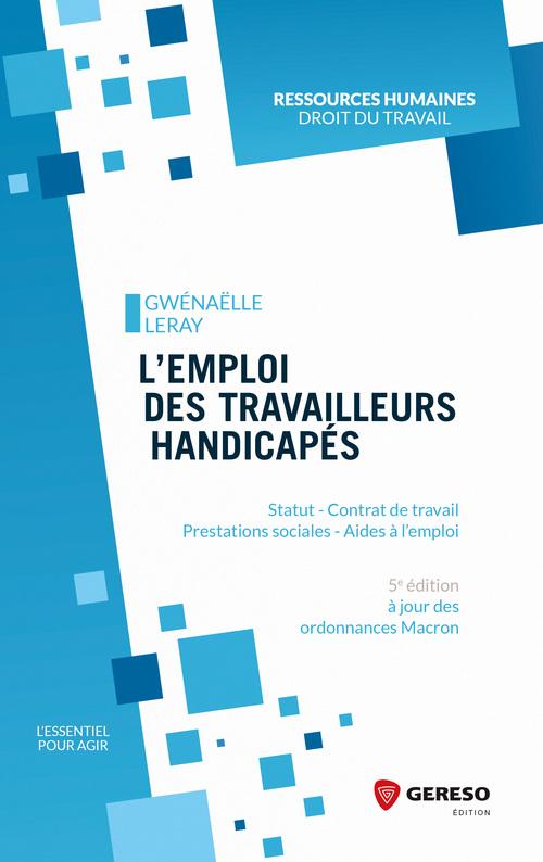 l'emploi des travailleurs handicapés (5e édition)