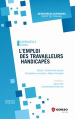 Vente Livre Numérique : L''emploi des travailleurs handicapés  - Gwenaëlle Leray