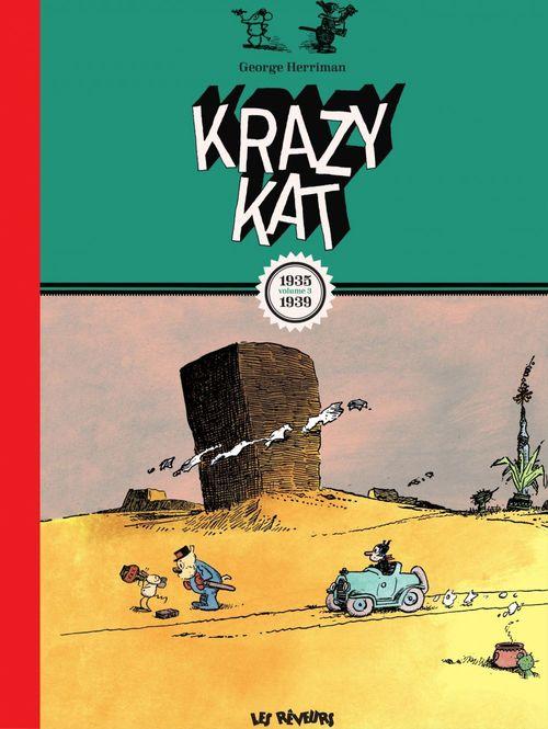 Krazy Kat Les planches du dimanche 1935-1939, volume 3
