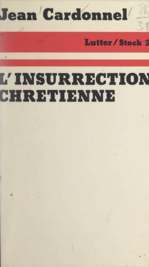 L'insurrection chrétienne