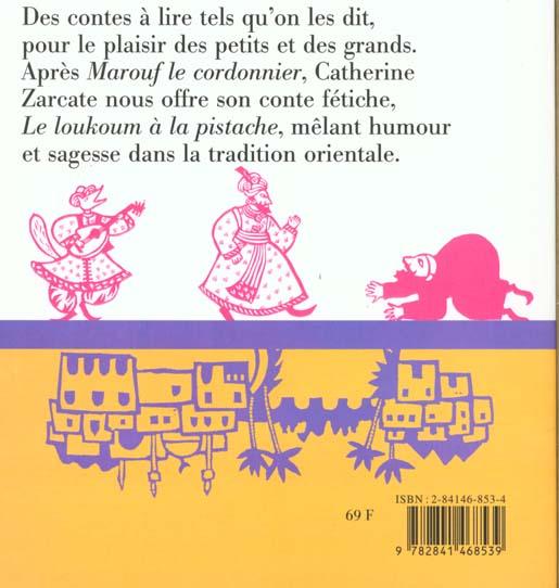 Loukoum à la pistache et autres contes d'orient