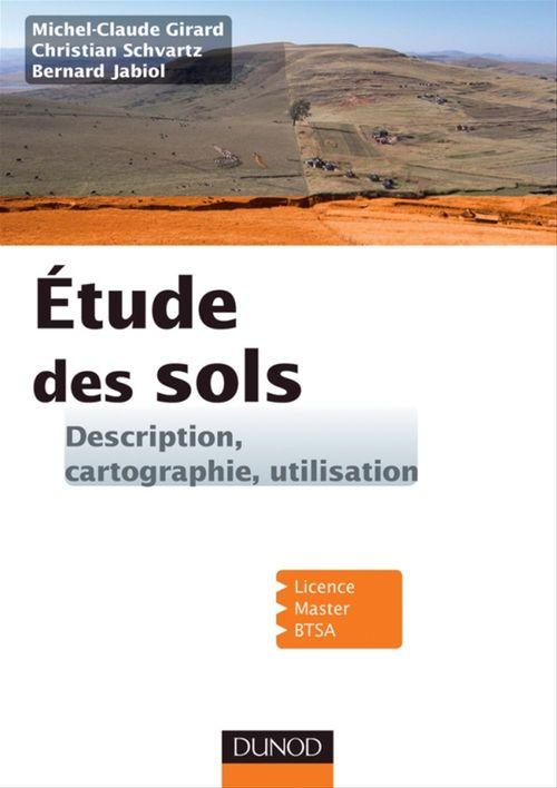 étude des sols ; description, cartographie, utilisation ; Licence, Master, BTSA