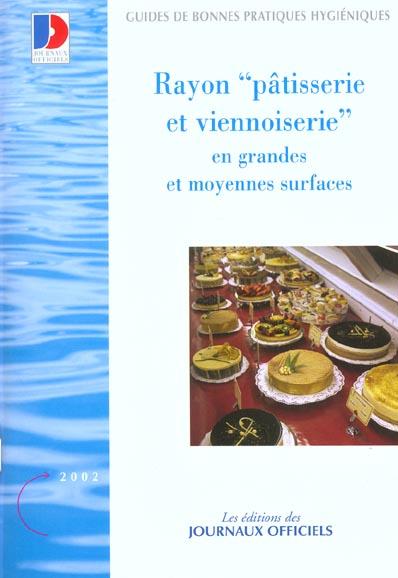 Rayon Patisserie Et Viennoiserie En Grandes Et Moyennes Surfaces N 5925 2002