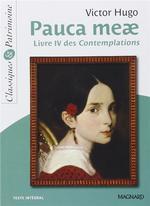 Couverture de Pauca meae ; livre iv des contemplations