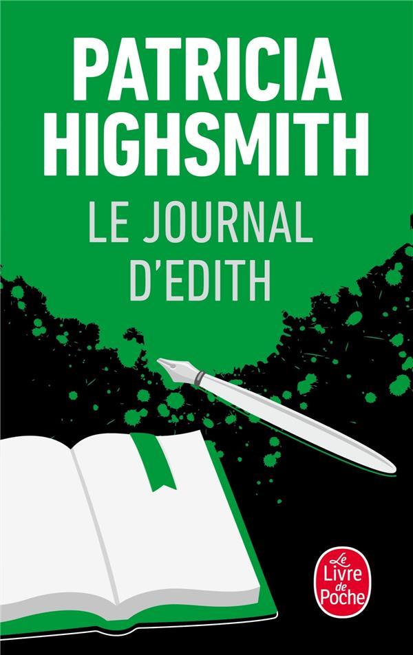 HIGHSMITH P - LE JOURNAL D'EDITH
