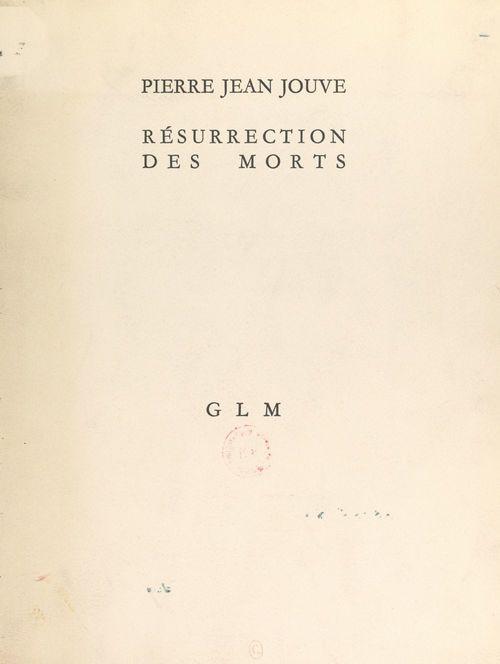 Résurrection des morts