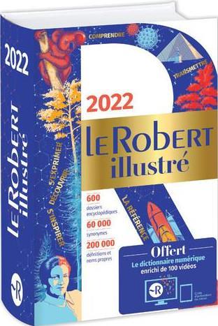 Dictionnaire le Robert illustré et son dictionnaire en ligne (édition 2022)