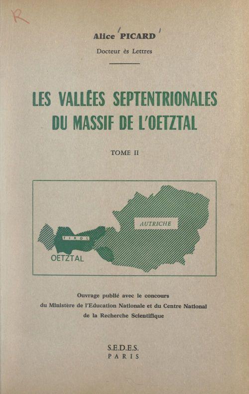 Les vallées septentrionales du massif de l'OEtztal (2)