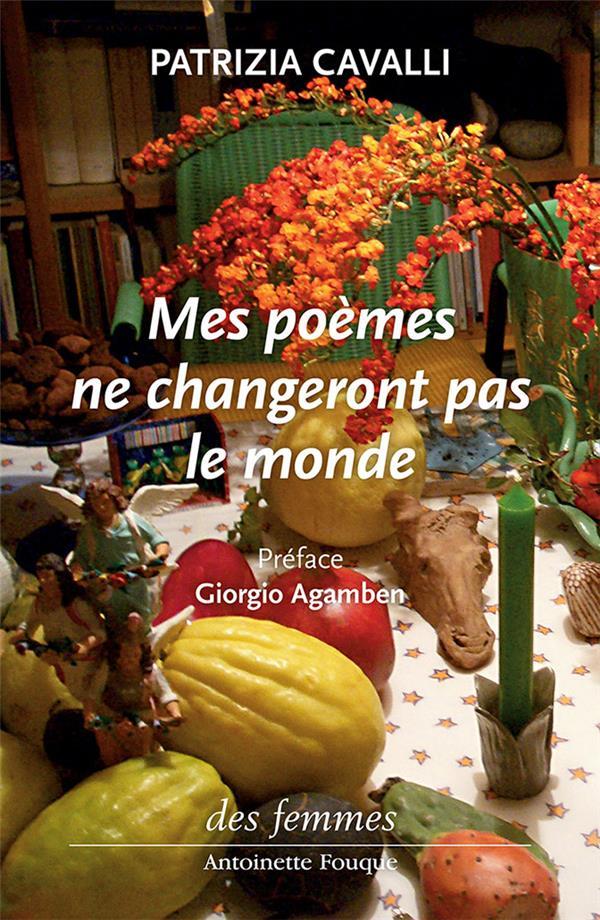 Mes poèmes ne changeront pas le monde