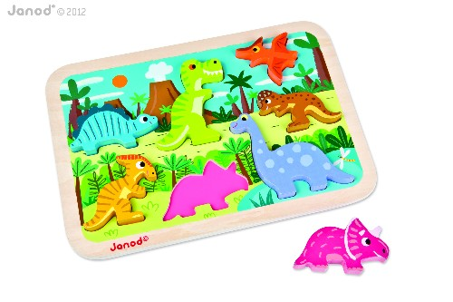 CHUNKY PUZZLE DINOSAURES